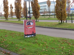 Poster Sint in Vathorst