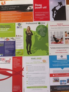 Communicatie Amersfoort flyers